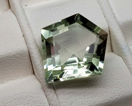 5.15Crt Green Prasolite  Natural Gemstones JI81