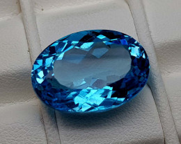 20.75Crt Blue Topaz Natural Gemstones JI81