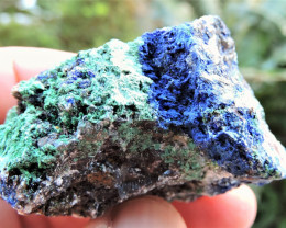 53.96g AZURITE MALACHITE SPECIMEN FROM LAVRION MINES GREECE