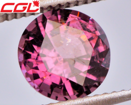 RICH COLOR! MASTER CUT! 2.33 CT Red Purple Spinel (Burma) | FREE SHIPPING!