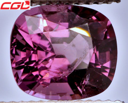 BIG! PRECISION CUT! 3.16 CT Pink Spinel (Burma) | FREE SHIPPING!