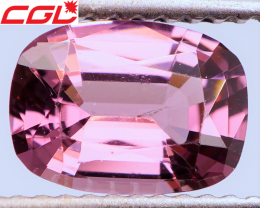 HOT PINK! PRECISION CUT! 1.33 CT Spinel (Burma) | FREE SHIPPING!