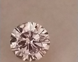NATURAL-VERYRARE -ARGYLE PINK DIAMOND 2,8MMSIZE -1PCS
