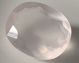 10.53ct  Pastel PInk Rose Quartz Gem Lovely NR