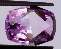 FREE SHIP! MASTER CUT! 5.58 CT Pinkish Purple Amethyst (Uruguay)