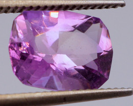 FREE SHIP! MASTER CUT! 3.28 CT Intense Lavender Purple Amethyst (Uruguay)