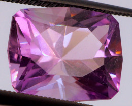 FREE SHIP! MASTER CUT! 6.42 CT Purple Amethyst (Uruguay)