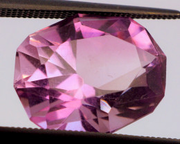 FREE SHIP! CUSTOM CUT! LAVENDER! 6.83 CT Amethyst (Uruguay)