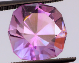 Rose de France! FREE SHIP! MASTER CUT! 5.58 CT Purple Pink Amethyst