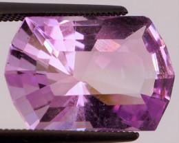 FREE SHIP! MASTER CUT! 7.02 CT Pinkish Purple Amethyst (Uruguay)