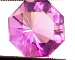Rose de France! MASTER CUT! 6.95 CT Rich Lavender Pink Amethyst FREE SHIP!