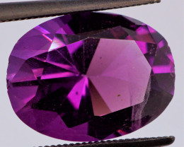 FREE SHIP! MASTER CUT! 5.40 CT Dark Purple Amethyst (Uruguay)