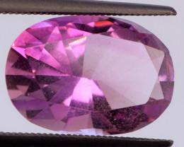 FREE SHIP! MASTER CUT! 5.23 CT Pink-Purple Amethyst (Uruguay)