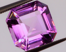 Rose de France! VVS! MASTER CUT 6.60 CT Rich Purple-Pink Amethyst (Uruguay)