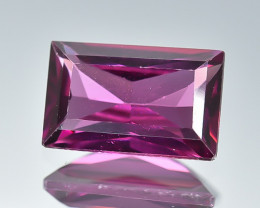 1.46 Crt Natural Rhodolite Garnet Faceted Gemstone.( AB 25)