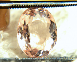 3.21 Carat SI Pink South American Morganite - Gorgeous