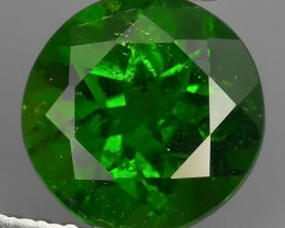 1.50  Cts MARVELOUS RARE NATURAL TOP GREEN- CHROME DIOPSIDE DAZZL