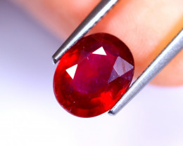3.00cts Blood Red Colour Ruby / RD495