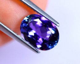 2.16cts Natural Violet Blue D Block Tanzanite / RD506