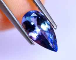 1.07cts Natural Violet Blue D Block Tanzanite / RD508