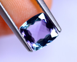 1.21cts Natural Violet Blue D Block Tanzanite / RD510