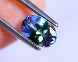 1.14cts Violet Blue D Block Tanzanite / RD541