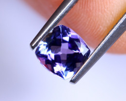 1.08cts Violet Blue D Block Tanzanite / RD543