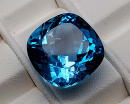 27.45Crt Natural Blue Topaz Stone JIBT02