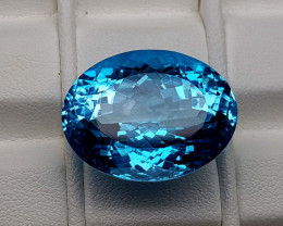 28.25Crt Natural Blue Topaz Stone JIBT05