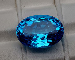 27.05Crt Natural Blue Topaz Stone JIBT06
