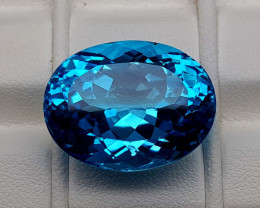 27.35Crt Natural Blue Topaz Stone JIBT08