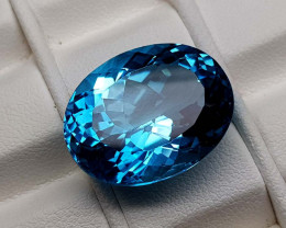 24.25Crt Natural Blue Topaz Stone JIBT10