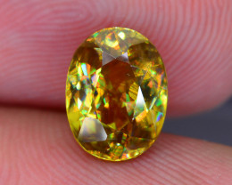 Rare AAA Fire 2.10 ct Sphene Sku-51
