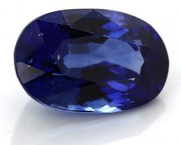 1.81 ct Oval Blue Sapphire: Deep Rich Blue
