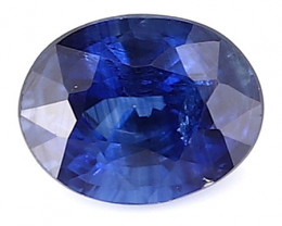 0.28 ct Oval Blue Sapphire: Royal Blue