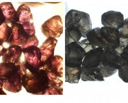 115Ct Natural Color Change Garnet Facet Rough Parcel