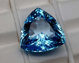 27.25Crt Natural Blue Topaz Stone JIBT14