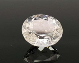 3.79CT RARE POLLUCITE BEST QUALITY GEMSTONE IIGC94