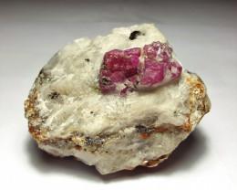 Amazing Natural color Damage free Ruby specimen 630Cts-Pak