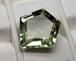 8.45Crt Green Prasolite  Natural Gemstones JI82