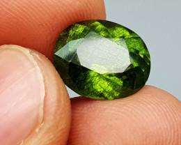 3.75Crt Peridot With Rutile  Natural Gemstones JI82