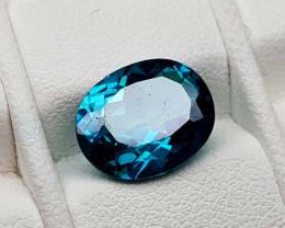 4.85Crt Green Topaz Natural Gemstones JI82