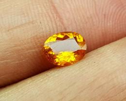 0.75Crt Clinohumite Of Tajikistan Rare  Natural Gemstones JI82