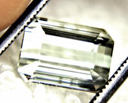 3.95 Carat Silver VVS African Tourmaline - Gorgeous