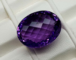 22.85Crt Natural Amethyst Stone JIAM40