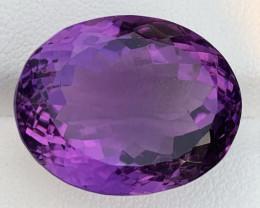 30.13 Carats Amethyst  Gemstones