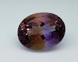 25Crt Bolivian Ametrine Stone JIAMT40