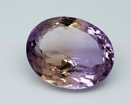 17.65Crt Bolivian Ametrine Stone JIAMT59