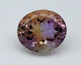 12.85Crt Bolivian Ametrine Stone JIAMT73