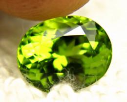 3.66  Carat VS Green Himalayan Peridot - Gorgeous